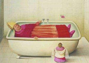 Fernando Botero - de Vaticaanse Badkamer
