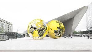 Ontwerp voor Kissing Earth - Olafur Eliasson