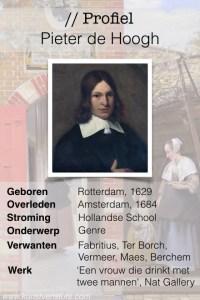 Profiel Pieter de Hoogh