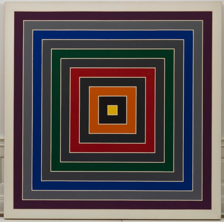 Gray Scramble, 1968-69 Oil on canvas, 175.3 x 175.3 cm Solomon R. Guggenheim Foundation, Hannelore B. and Rudolph B. Schulhof Collection, bequest of Hannelore B. Schulhof, 2012