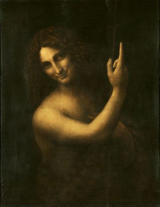 Leonaro da Vinci - Johannes de Doper