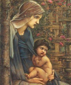 Edward Burne Jones - the Star of Bethlehem detail)