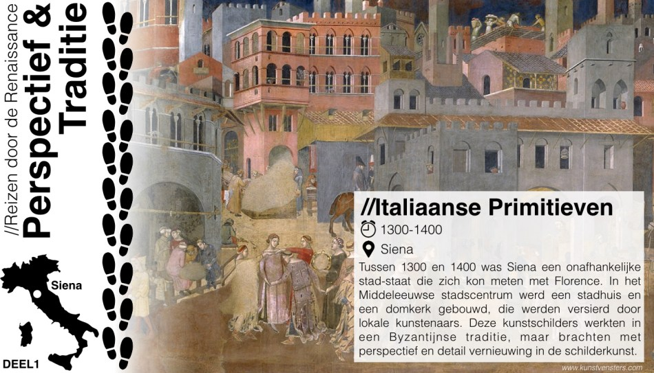 Reizen door de Renaissance - de School van Siena