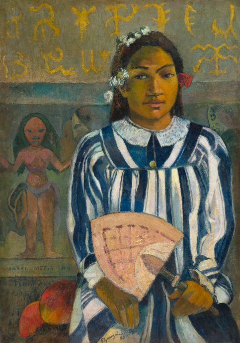 Paul Gauguin - Merahi metua no Tehamana (Les aïeux de Teha'amana) © the Art Institute of Chicago