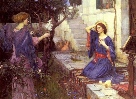 John William Waterhouse - de Annunciatie