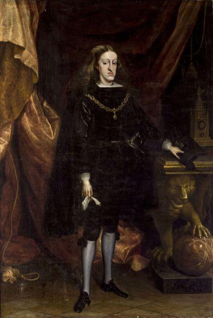 Juan Carreño de Miranda - Karel II
