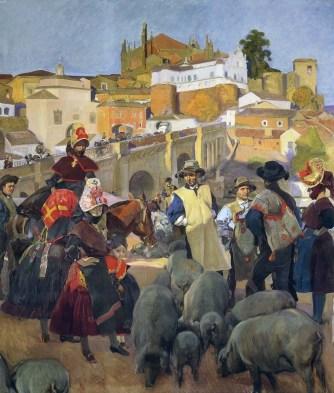 Extremadura: El mercado