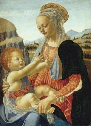 Andrea del Verrocchio - Madonna met Kind