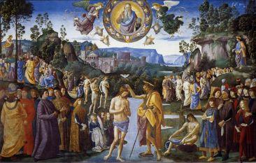 Pietro Perugino - de Doop van Jezus