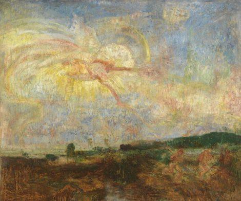 James Ensor - Adam en Eva uit het paradijs verjaagd