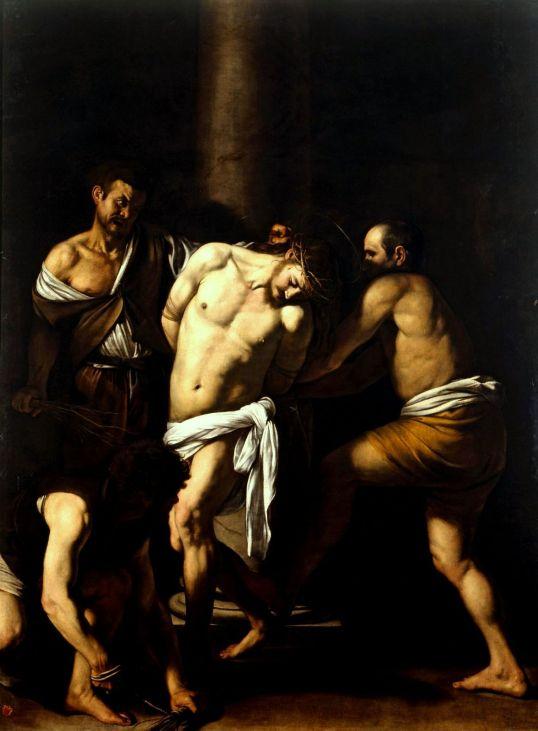Caravaggio - Geseling van Christus