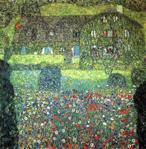 BELVEDERE: Gustav Klimt - Huis aan de Attersee