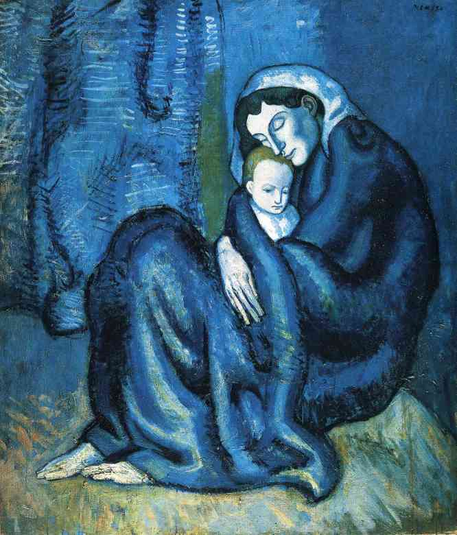Pablo Picasso - Moeder en Kind