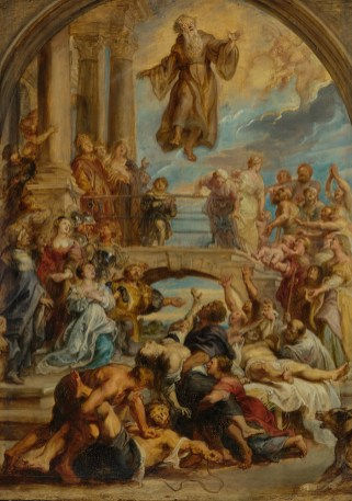 Peter Paul Rubens - De wonderen van de heilige Franciscus Paolo, ca.1627