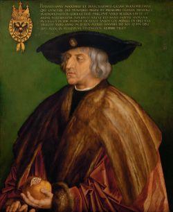 Albrecht Dürer - Maximiliaan I