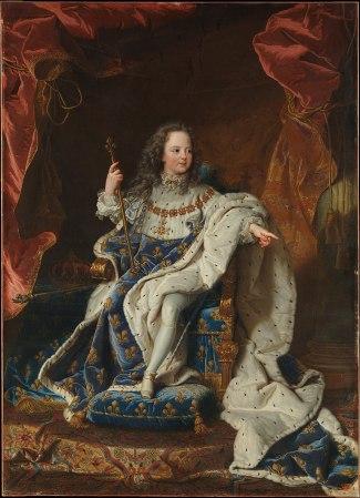 Hyacinthe Rigaud - Lodewijk XV (5 jaar)