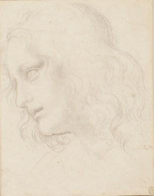 Leonardo da Vinci - Studie voor Filippus
