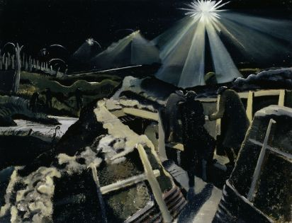 Paul Nash - The Ypres Salient at Night