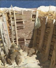 William Orpen - Dead Germans in a Trench