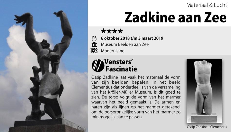 Zadkine aan Zee - Museum Beelden aan Zee