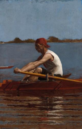 Thomas Eakins - John Biglin in a Single Scull