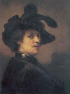 Rembrandt - Zelfportret (1635)