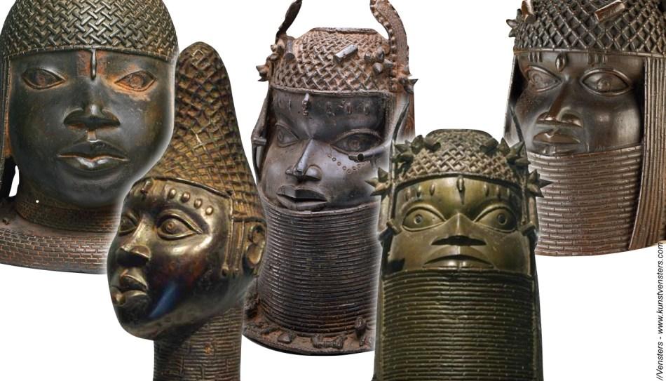 Bronzen Hoofden uit Benin
