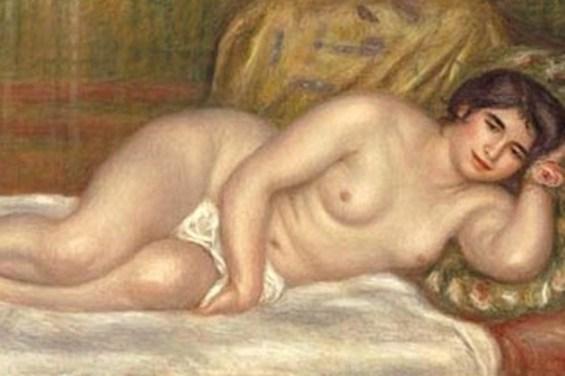 Pierre Auguste Renoir - Femme, nu couchée