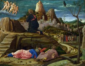Andrea Mantegna - Doodsangst in Getsemane