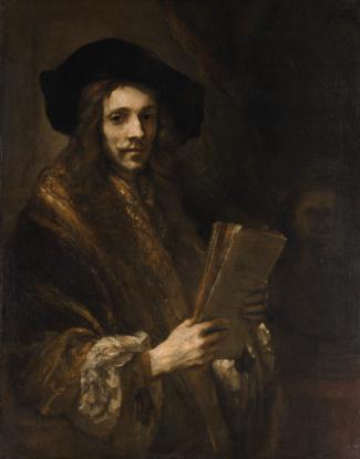 Rembrandt van Rijn - de Veilingmeester
