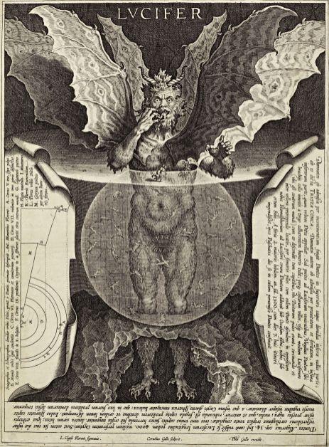 Cornelis Galle - Lucifer