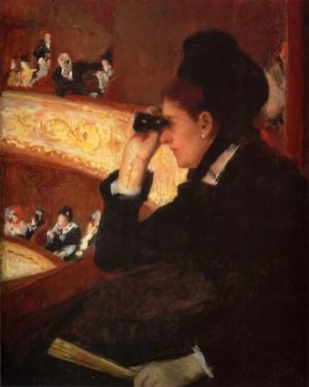 Mary Cassatt - In de loge