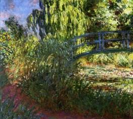 Claude Monet - de Japanse Brug