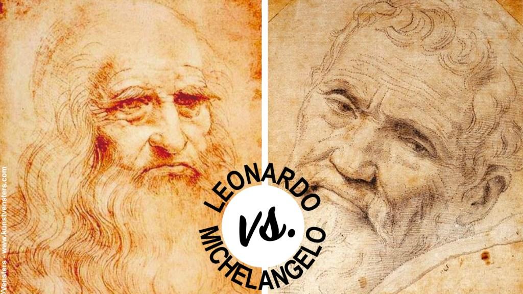 Leonardo vs Michelangelo