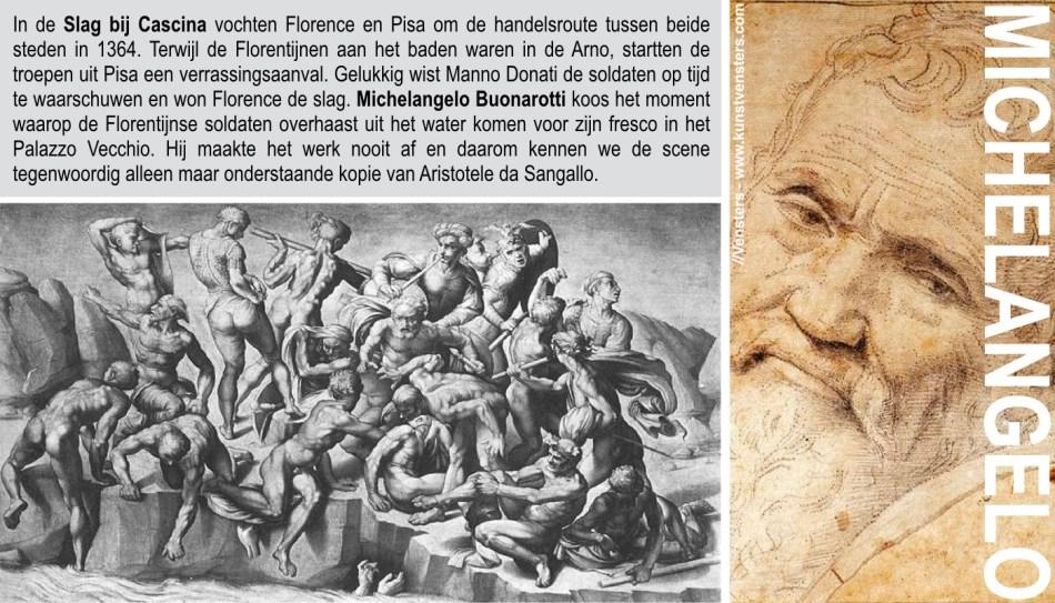 Michelangelo - Slag bij Cascina