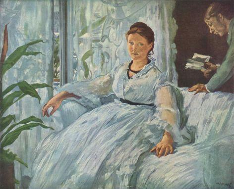 Edouard Manet - La Lecture (Suzanne, 39 jaar)