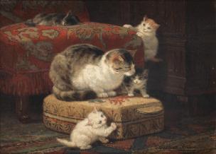 Henriëtte Ronner-Knip -Katten