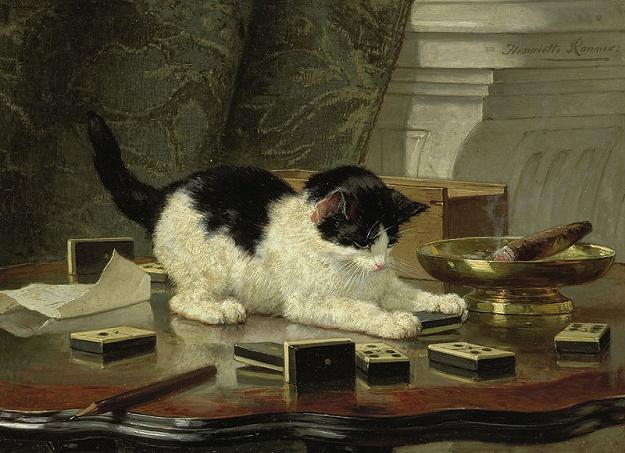 Henriëtte Ronner-Knip - Katjesspel