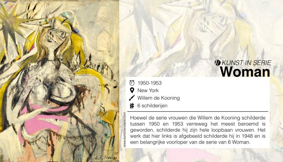 Willem de Kooning - Woman serie