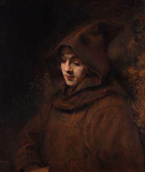 Rembrandt van Rijn - Titus in Habijt