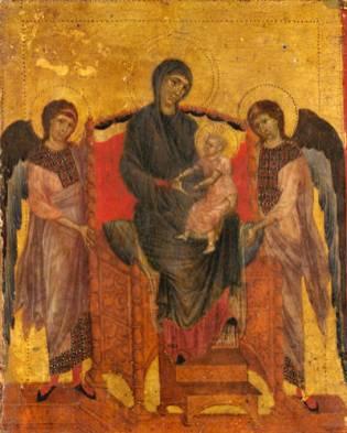Cimabue - Madonna met Kind
