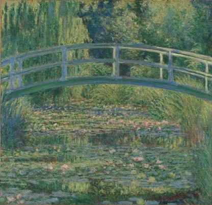 Claude Monet (1840-1926), De Waterlelievijver, 1899, Olieverf op doek, 88,3 x 93,1 cm, National Gallery Londen.