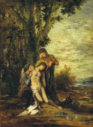 Gustave Moreau - Sint Sebastiaan