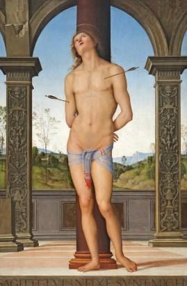 Pietro Perugino - Sint Sebastiaan