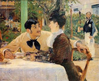 Édouard Manet - Bij Père Lathuille