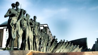 Moskou - Holocaust Monument