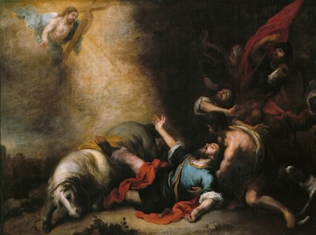 Bartolomé Esteban Murillo - de Bekering van Paulus