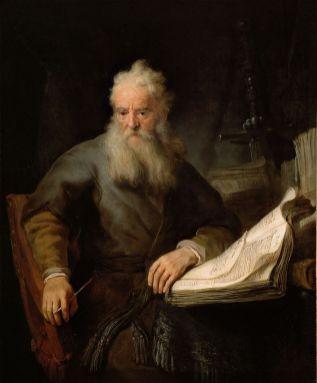 Rembrandt van Rijn - Paulus