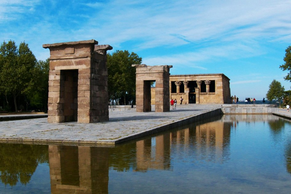 Debod Tempel - Madrid