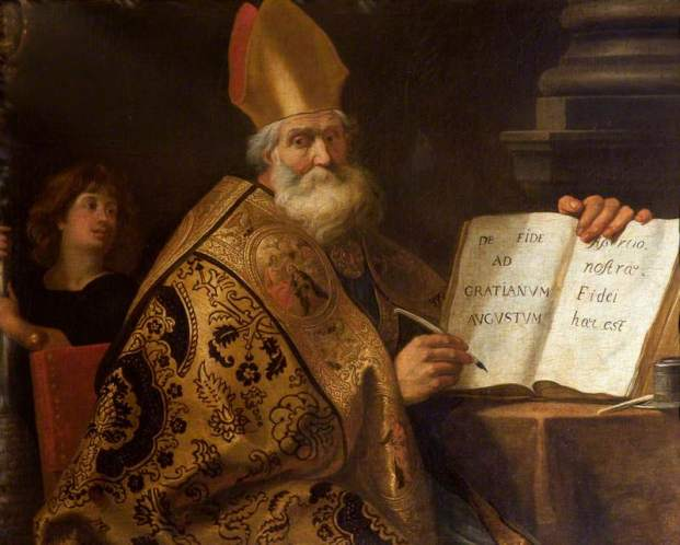 Gerard Seghers - Sint Ambrosius